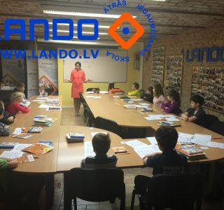 Ātra lasīšana bērniem. 8-12 gadus vecuma bērnu grupas vasarā Lando.lv